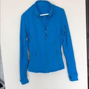 Lululemon Blue Define Jacket Size 6